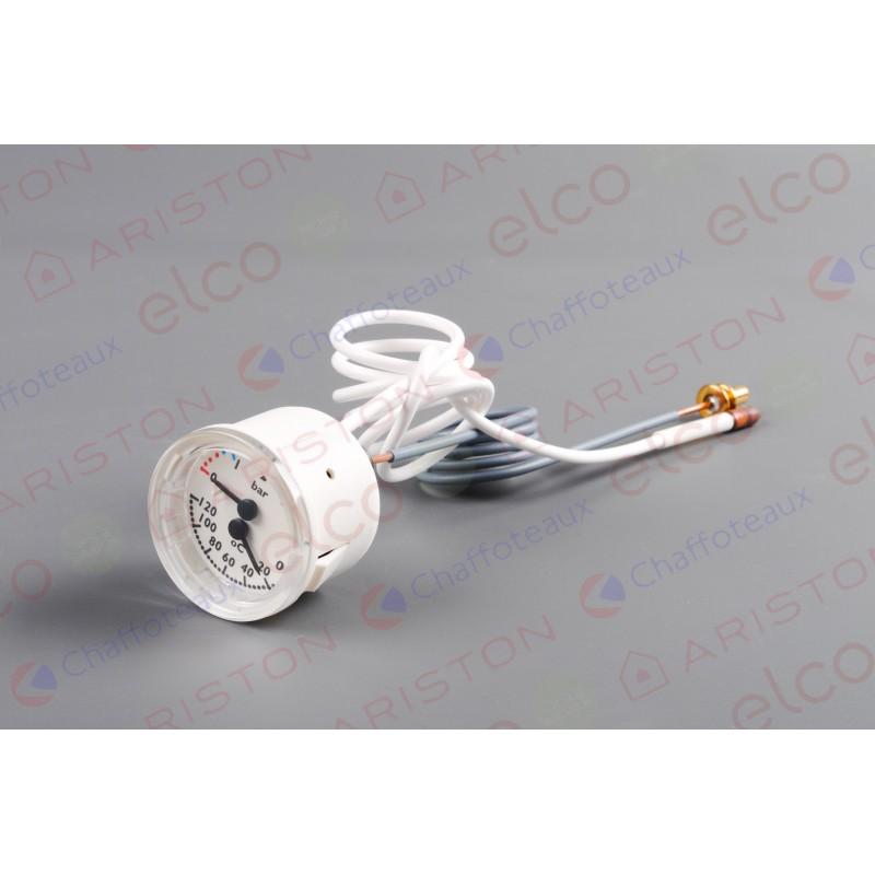 Термоманометр для котла Ariston (Аристон) фото