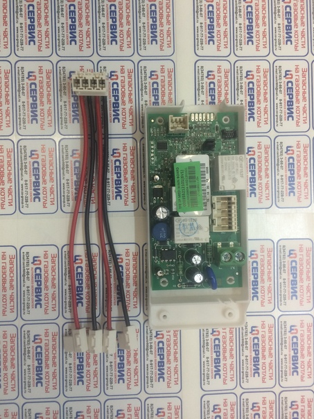 Модуль управления водонагревателя фото