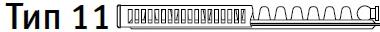 Стальные радиаторы Vaillant 11 тип