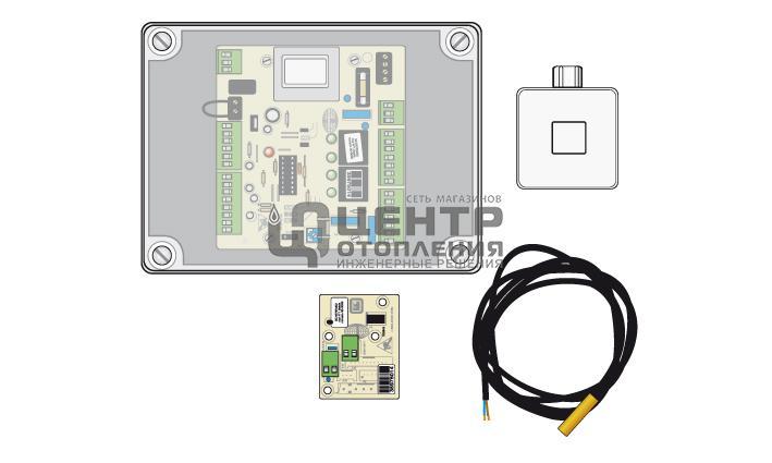 Электрокомплект управления зонами отопления с датчиками фото