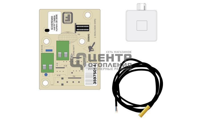 Электрокомплект управления зоной отопления с датчиками фото