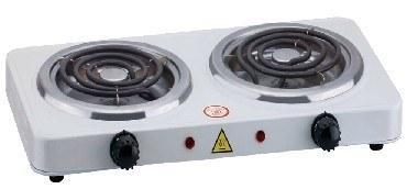 """Плита электр.2 конфорочная """"Энергопром"""" ОР2020 (спиралевый нагревательный элемент) фото"""