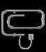 Электрические полотенцесушители кабельного типа