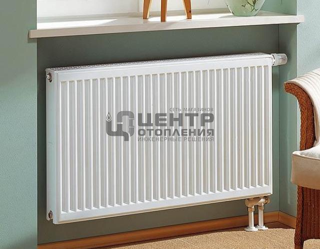 Радиаторы стальные Vaillant 11-500х1300 нижнее подключение фото