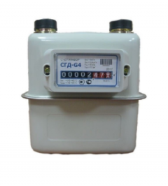 Счетчик газа СГД-G4 G 1 1/4(110мм) Левый фото