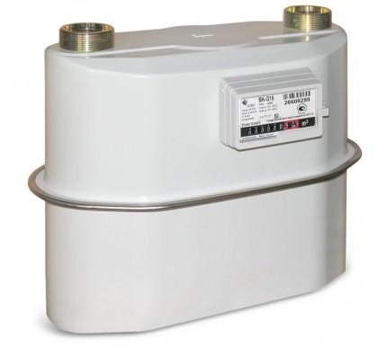 Счетчик газа бытовой ВК G16T с термокоорекцией фото