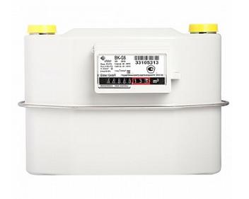Счетчик газа бытовой ВК G6 левый фото
