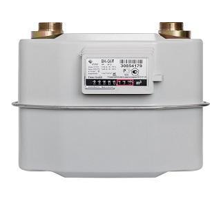 Счетчик газа бытовой ВК G6T левый фото