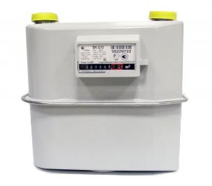 Счетчик газа бытовой ВК G10 левый фото