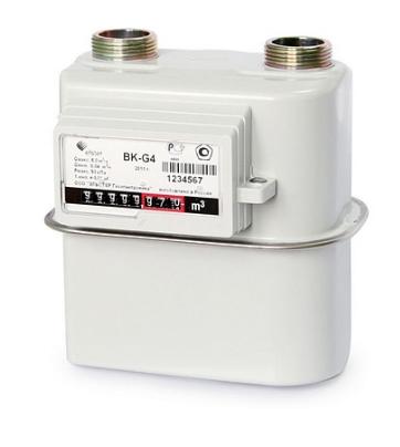 Счетчик газа бытовой ВК G1,6 правый 110 мм фото