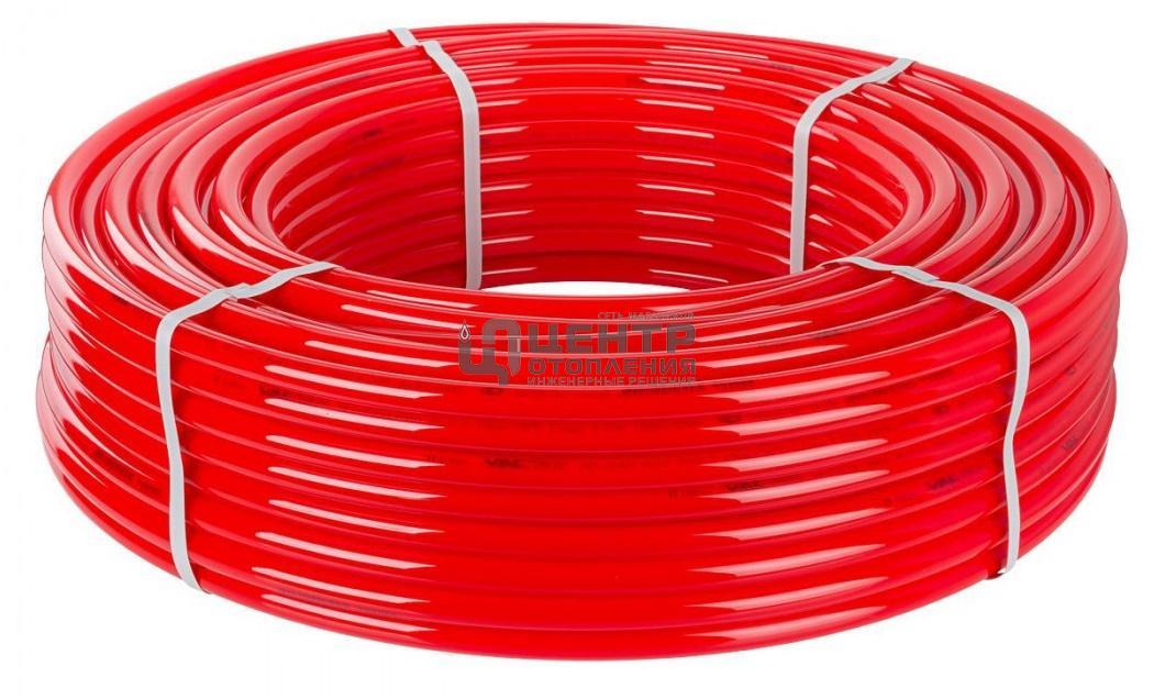 Труба PE-RT VALFEX 20x2.0 мм (красная) фото