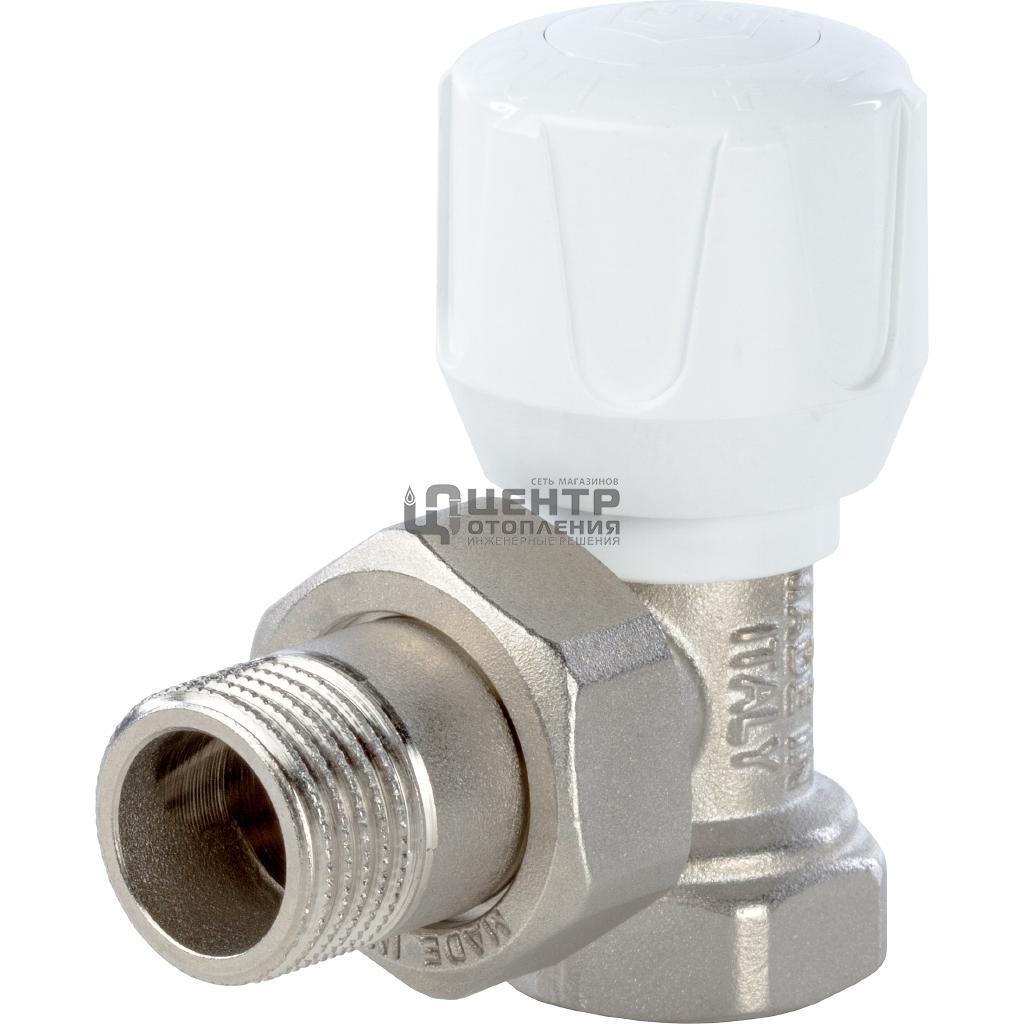 Клапан ручной терморегулирующий, угловой 3/4 фото