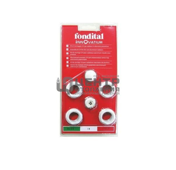 Fondital A80 монтажный комплект 1″-1/2″ без кронштейнов фото